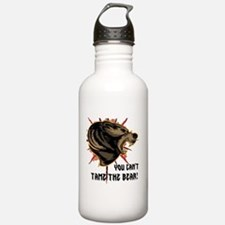Can't tame the bear Sports Water Bottle