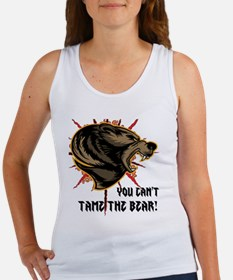 Can't tame the bear Women's Tank Top