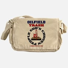 Oil field Trash God's Chosen Messenger Bag