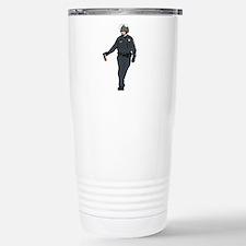 Casual Pepper Spray Cop Travel Mug