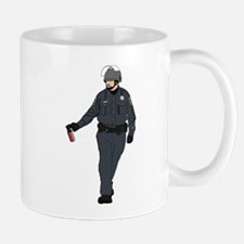 Casual Pepper Spray Cop Mug
