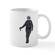 Casual Pepper Spray Cop Mug