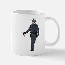 Casual Pepper Spray Cop Small Small Mug
