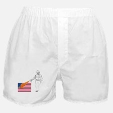Casual Pepper Spray Cop Boxer Shorts