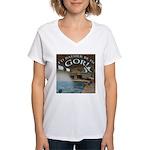 Rather Be In Gor Women's V-Neck T-Shirt