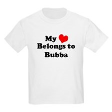 My Heart: Bubba Kids T-Shirt