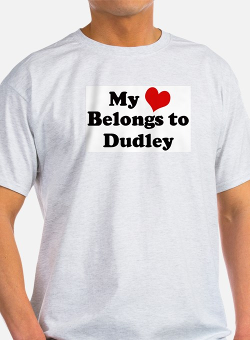 My Heart: Dudley Ash Grey T-Shirt