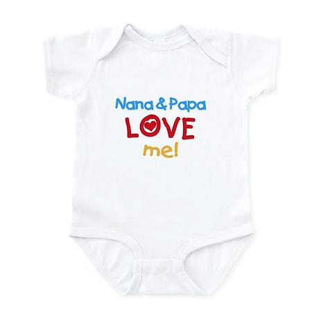 Nana & Papa Love Me Infant Creeper