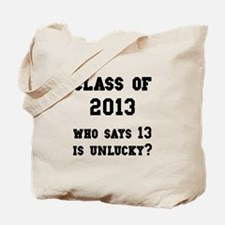 Class Of 2013 Lucky Tote Bag