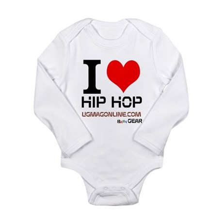 I LOVE HIP HOP BBY GEAR Long Slv Infant Bodysuit