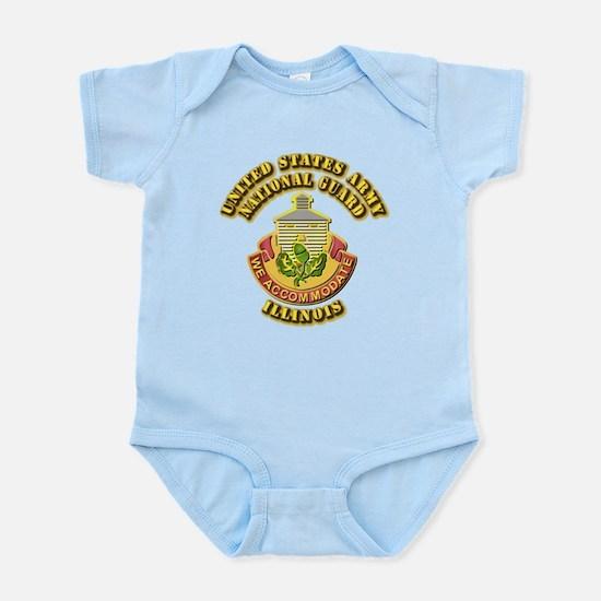 Army National Guard - Illinois Infant Bodysuit