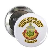 "Army National Guard - Illinois 2.25"" Button"
