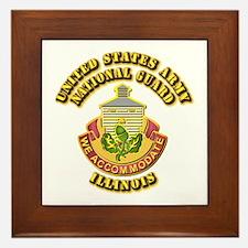 Army National Guard - Illinois Framed Tile