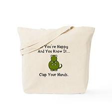 TRex Clap Tote Bag