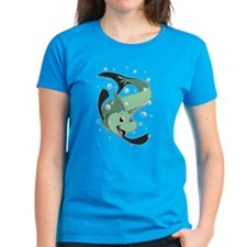 Cute Fins and bubbles Tee