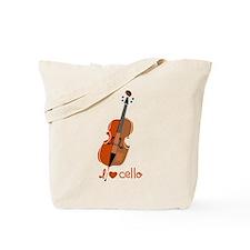 I love cello Tote Bag