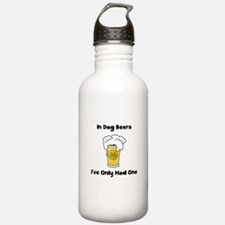 Dog Beers Water Bottle