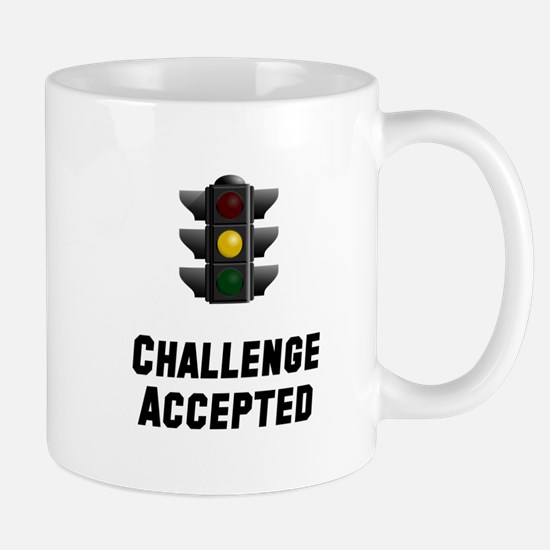 Challenge Accepted Light Mug