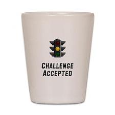 Challenge Accepted Light Shot Glass