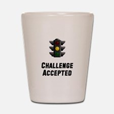 Challenge Accepted Light Shot Glass