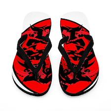 Tribal Design 2 (Prison) Flip Flops