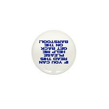 Help A Drunk Mini Button (100 pack)