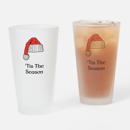 Unique Holiday Drinking Glass
