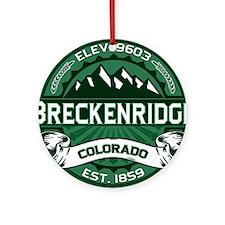 Breckenridge Forest Ornament (Round)