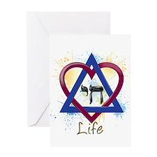 Chai Life Greeting Card