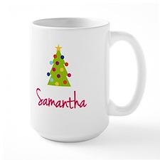 Christmas Tree Samantha Mug