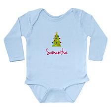 Christmas Tree Samantha Long Sleeve Infant Bodysui