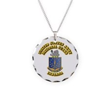 Army National Guard - Indiana Necklace