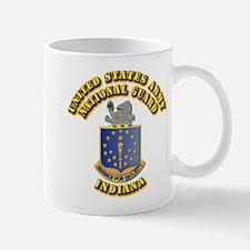 Army National Guard - Indiana Mug