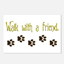 Walk With a Friend Postcards (Package of 8)