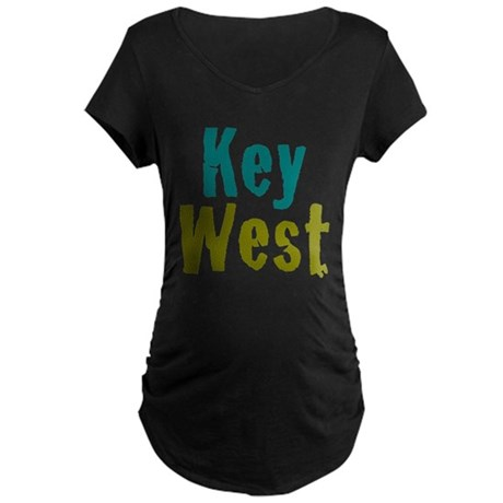 Key West Maternity Dark T-Shirt