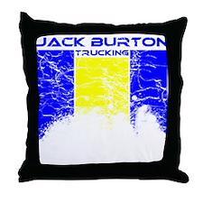 Jack Burton Trucking Throw Pillow