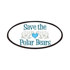 Save the Polar Bears Patches