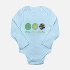 Funny Anti soccer Long Sleeve Infant Bodysuit