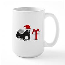 honey badget santa Mug