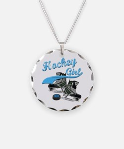 Cute Hockey game Necklace