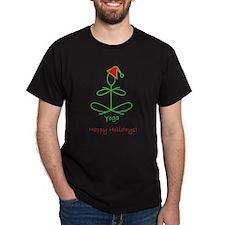 Yoga Glee Santa T-Shirt