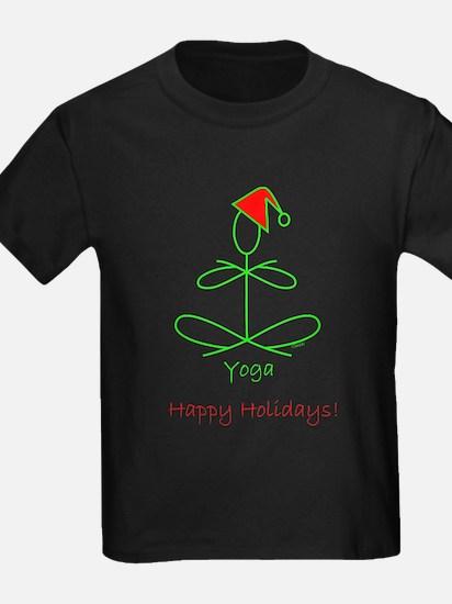 Yoga Glee Santa T