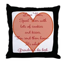 Unique Kiss Throw Pillow