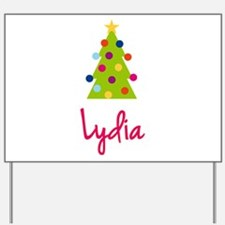 Christmas Tree Lydia Yard Sign