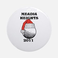 MEADIA CHRISTMAS 2011 Ornament (Round)