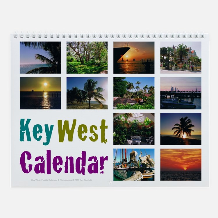 Key Calendar Design Software : Key west calendars calendar designs templates