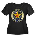 DHRC Women's Plus Size Scoop Neck Dark T-Shirt