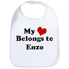 My Heart: Enzo Bib