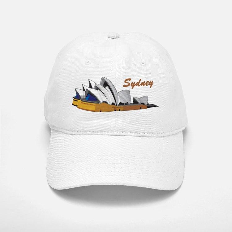 Sydney Opera House Baseball Baseball Cap