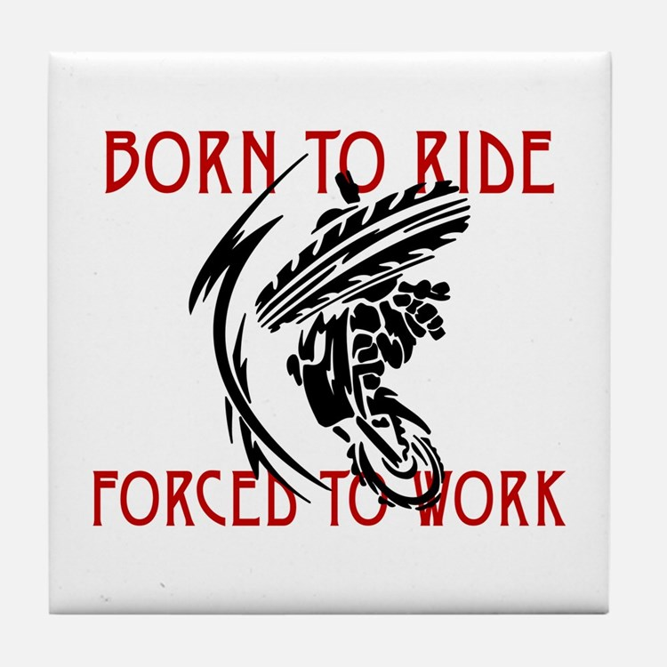 Born to Ride Tile Coaster